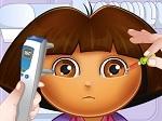 Gioca gratis a Dora dall'oculista