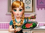 Gioca gratis a Frozen: Anna in cucina