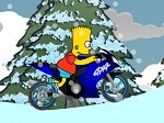 Gioca gratis a Bart Snow Ride