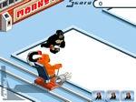 Gioco Curling con le scimmie