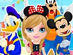 Gioco Barbie a Disneyland