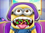 Gioca gratis a Minion Throat Doctor