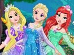 Gioca gratis a Elsa Principessa Disney