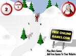 Gioco Babbo Natale sciatore